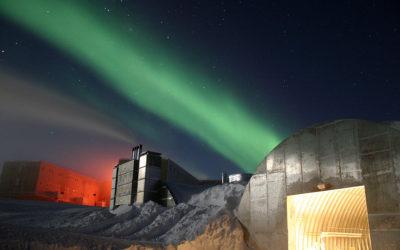 Nuit polaire au pole sud / Antartique