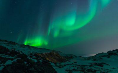 Aurores boréales - Tromsø, Norvège