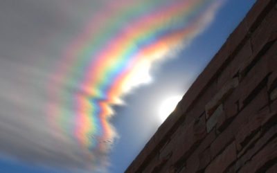 An Iridescent Cloud Over Colorado Credit & Copyright: August Allen