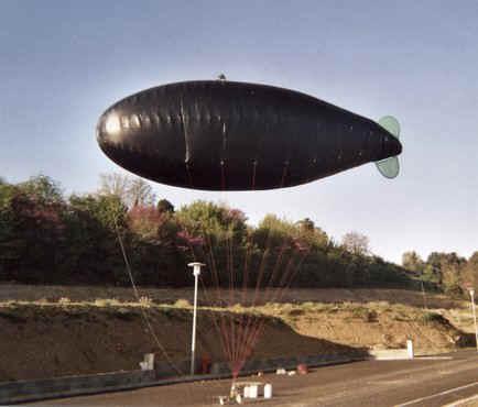 ballon dirigeable solaire
