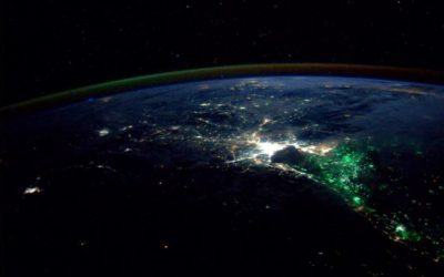 NASA astronaut Reid Wiseman Tweeted this photo of Thailand at night on Aug. 18, 2014
