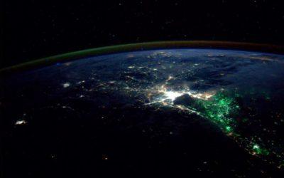 NASA astronaut Reid Wiseman Tweeted this photo of Thailand at night on Aug. 18, 2014