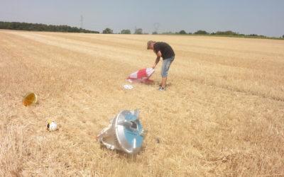 inspection du parachute